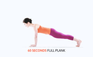 Plank: How this 60 seconds a day exercise for a flat stomach is more efficient than 1000 crunches