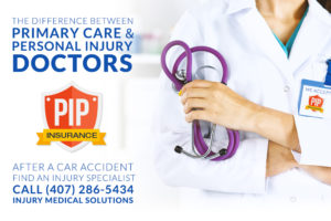 Why primary care doctors can't treat car accident injuries
